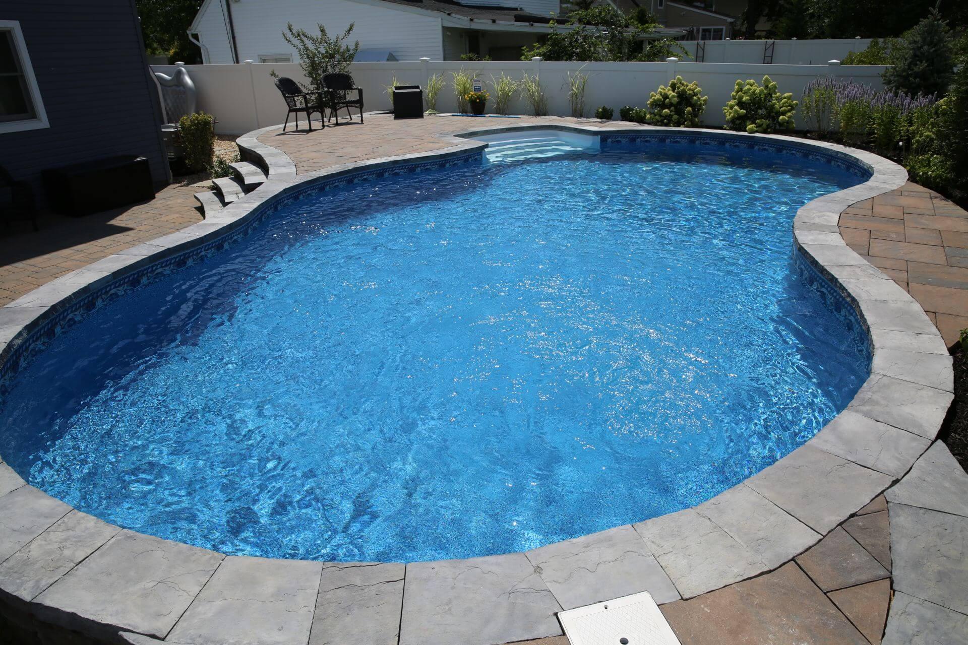 Semi In Ground Grecian Pools Pool People