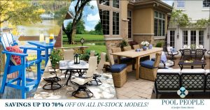 In-Stock Patio Sale